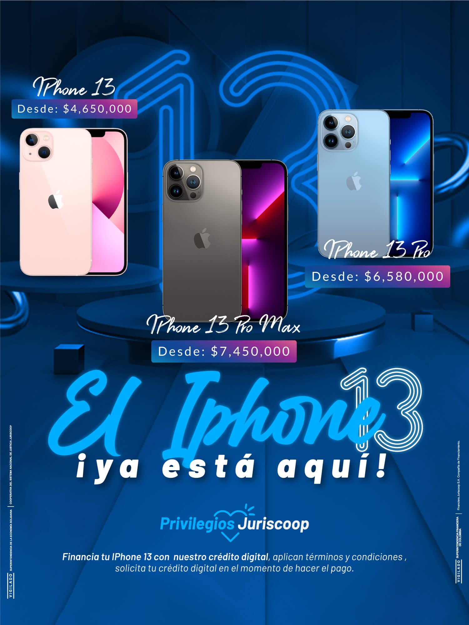 iPhone 13 Financia tu equipo